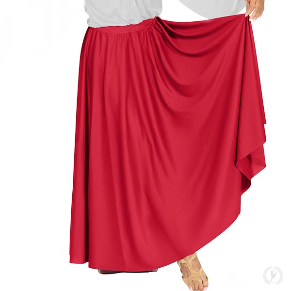 0d1ae0b6cb 13778 - Womens Polyester Full Length Praise Skirt