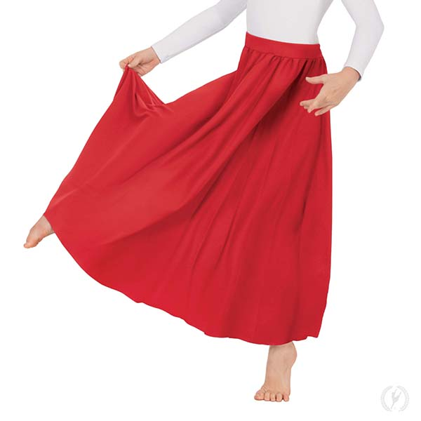 1049cb2683 13778k - Young Girls Polyester Full Length Praise Skirt