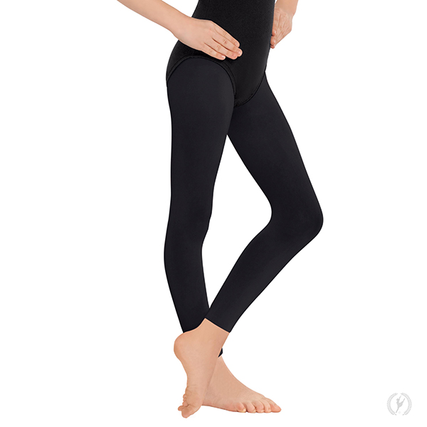 f1249dbce65 212c - Girls Non-Run Footless Tights with Soft Knit Waistband by EuroSkins