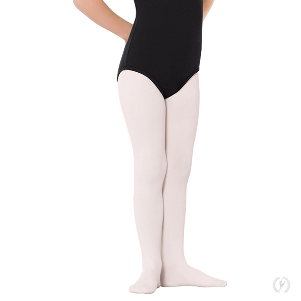 4622162484af0f 215c - Girls Non-Run Footed Tights with Soft Knit Waistband by EuroSkins